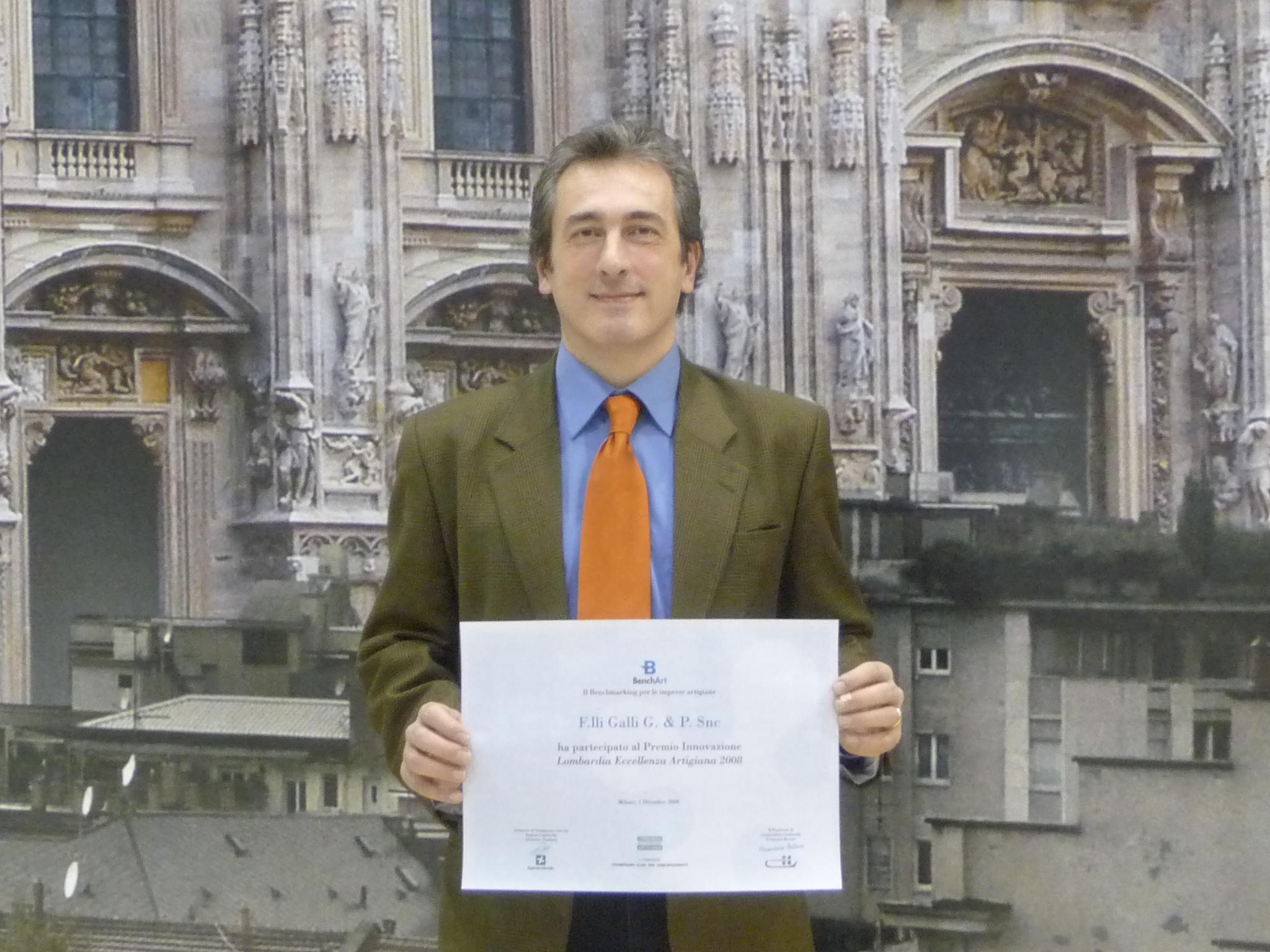 Premiazione Fratelli Galli, Company Adwards