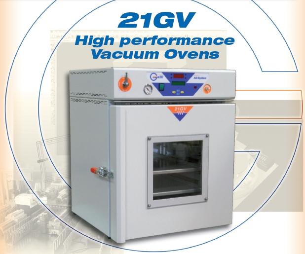 Galli-21GV, Vacuum Ovens, Test Oven 20L, 50L, 110L, 220L