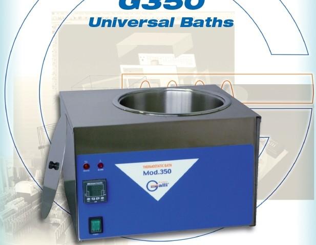 Galli-Bath-G350, Bagnomaria da laboratorio, Laboratory Thermostatic Baths