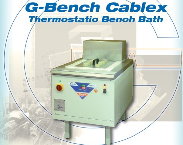 Galli-Bath-GBenchCablex, Banco Prova con Bagno Termostatico, Test Bench with Thermostatic Baths
