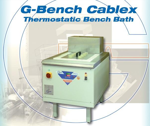 Galli-Bath-GBenchCablex, Banco Prova con Bagno Termostatico, Test Bench with Thermostatic Baths