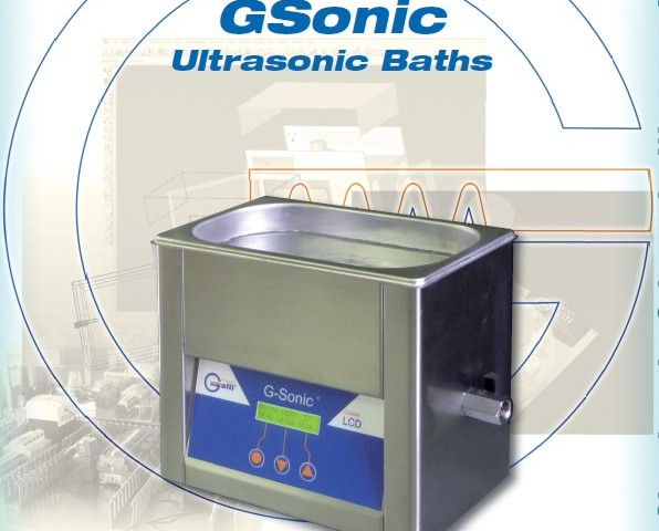 Galli-Bath-GSonic, Bagno Ultrasioni, Ultrasonic Baths, Pulizia, degassaggio, Cleaning, Degasing