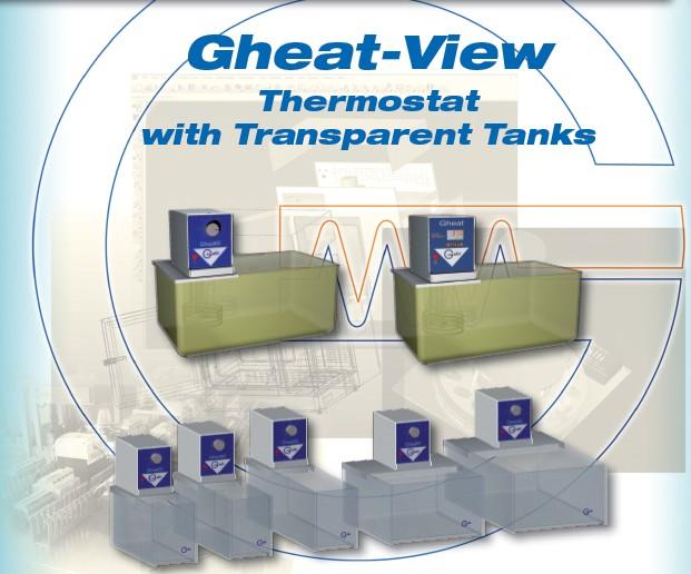 Galli, Baths, GheatView, Bagno termostatico trasparente, Thermostatic Baths, Plastic Trasparent, Circulators, Laboratory, Laboratorio, plexsiglass, Lexan