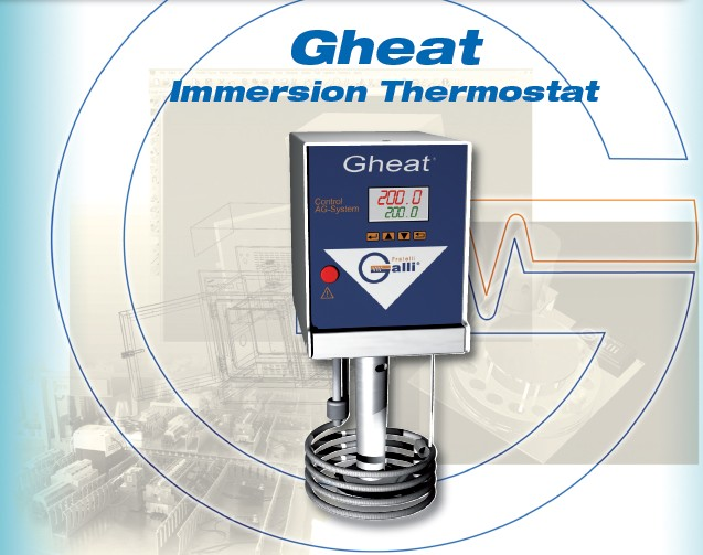 Galli, Baths, Gheat, Termostato ad Immersione, Gruppo Termostatico, Immersion Thermostat, Circulator, Laboratory, Laboratorio