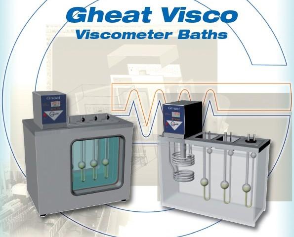 Galli-Bath-GheatVisco, Bagno per Viscosimetria, Viscosity Baths, tubi capillari Cannon-Fenske, Ubbelohde, Cristallografia, ASTM, Olio, Oils