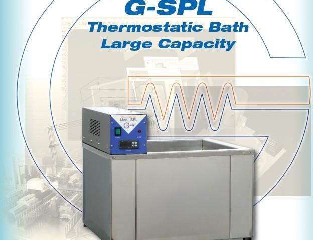 Galli-Bath-SPL. Bagno Termostatico, Grande Volume, Thermostatic Baths, Large Volumes, Laboratorio, Labopratory, Bagno con Moto Agitatore, Stirred Baths