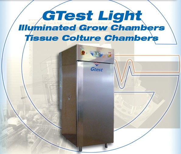 Galli-Climatic-Chamber-GTest-Light, Camera climatica con luci, Cella climatica con Luci, Cella di crescita, Grow Chamber