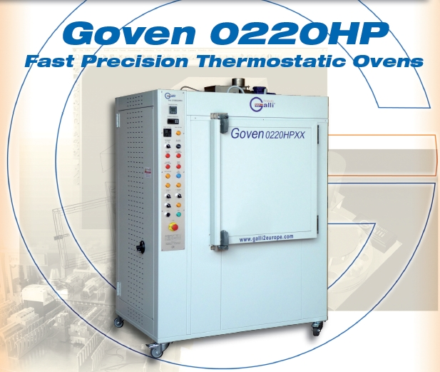 Galli-GOVEN 0220HP-Stufa rapida a Ventilazione Forzata, Forced Air Flow Rapid Ovens, Forno, +450°C