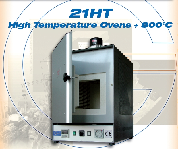 Galli-21HT, +800°C, Stufa Alta Temperatura, High Temperature Ovens, Forno