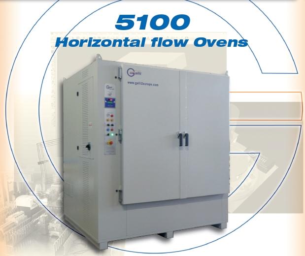 Galli-Oven-5100, Stufa a Ventilazione Orizzontale, Orizzontal Air Flow Ovens, Forno, +260°C, +350°C