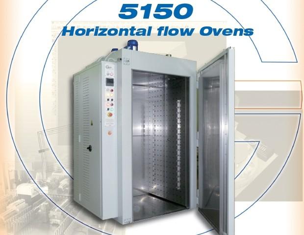 Galli-Oven-5150, Stufa a Ventilazione Orizzontale, Orizzontal Air Flow Ovens, Forno, +260°C, +350°C Floor Style, Carico a Terra
