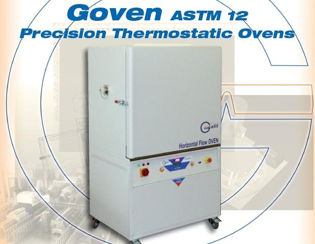 Galli-GOVEN ASTM12-Stufa a Ventilazione Forzata, Forced Air Flow Ovens, Forno, +350°C, Ricambi Aria, Air Exchange
