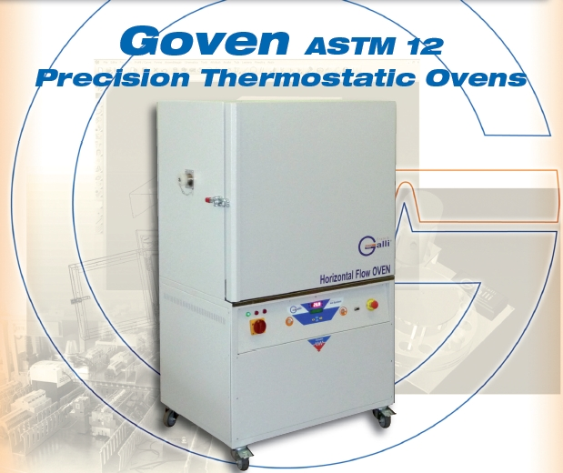Galli-GOVEN ASTM12-Stufa a Ventilazione Forzata, Forced Air Flow Ovens, Forno, +350°C, Ricambi Aria, Air Exchange