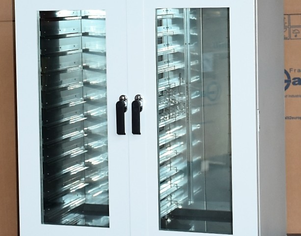 Galli-Oven-2100-Stufa Vetrata a Ripiani, Glass Door Shelves