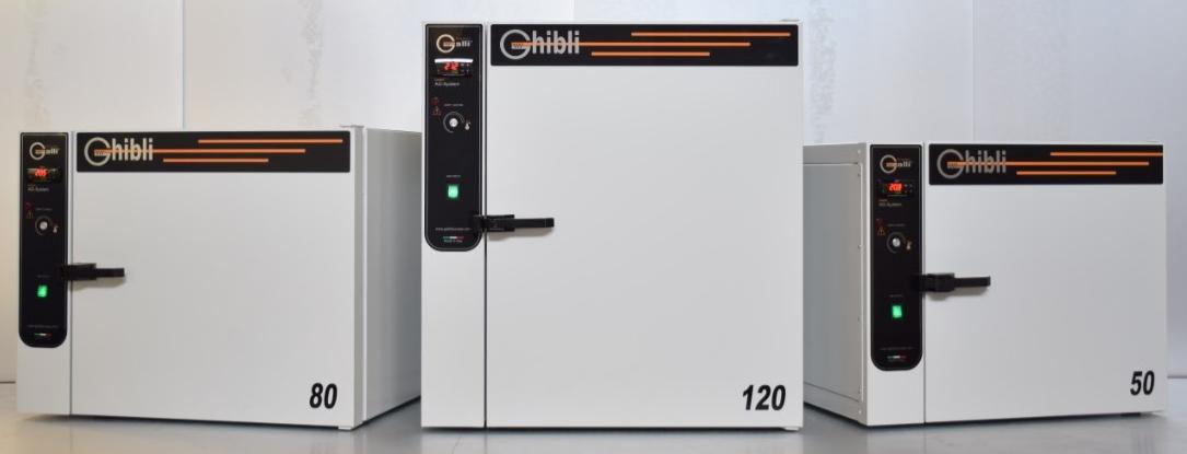 Galli, Ghibli, Stufa, Ovens, Forno da Laboratorio, +300°C 50L, 80L, 120L