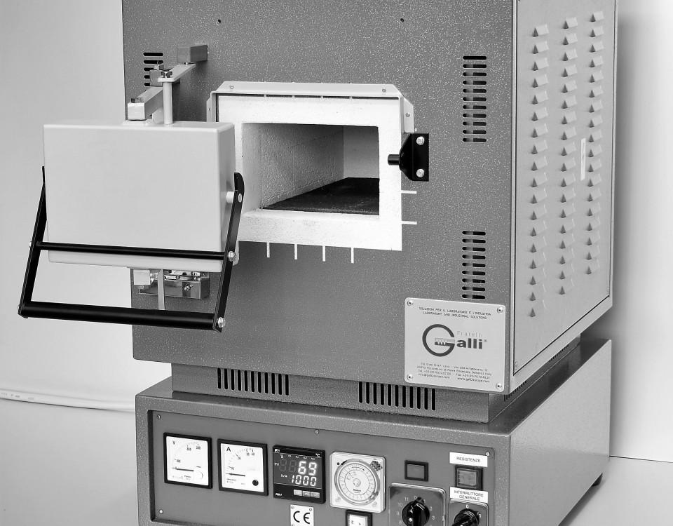 Galli-Forno a Muffola, Muffle Furnaces +1400°C, MF400X0601