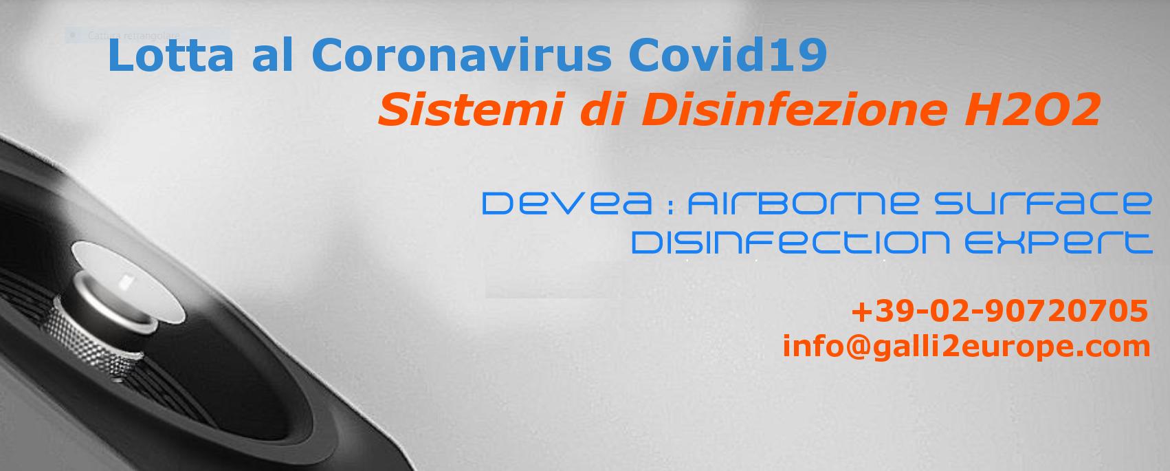 Galli-Devea-H2O2-Airborne-Disinfection-Disinfezione-Lotta Coronavirus-Covid19