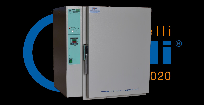 Galli-Incubatore ad Acqua-Digitale-Mod. 500-08-Nuovo-95L+60°C