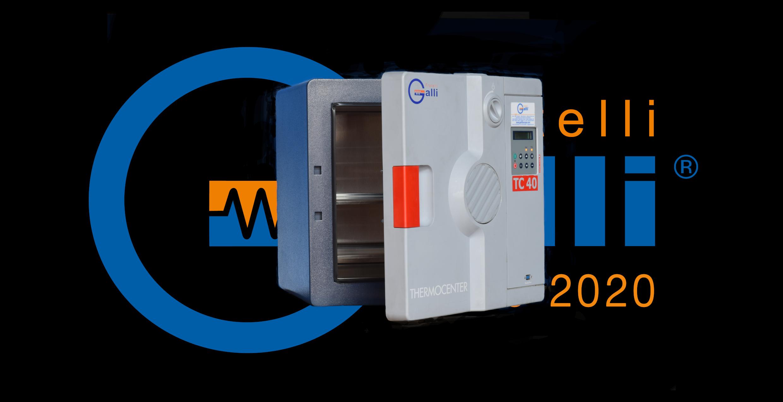 Galli-Stufa-Ventilazione Forzata-06-Usato Rincondizionato-40L +200°C