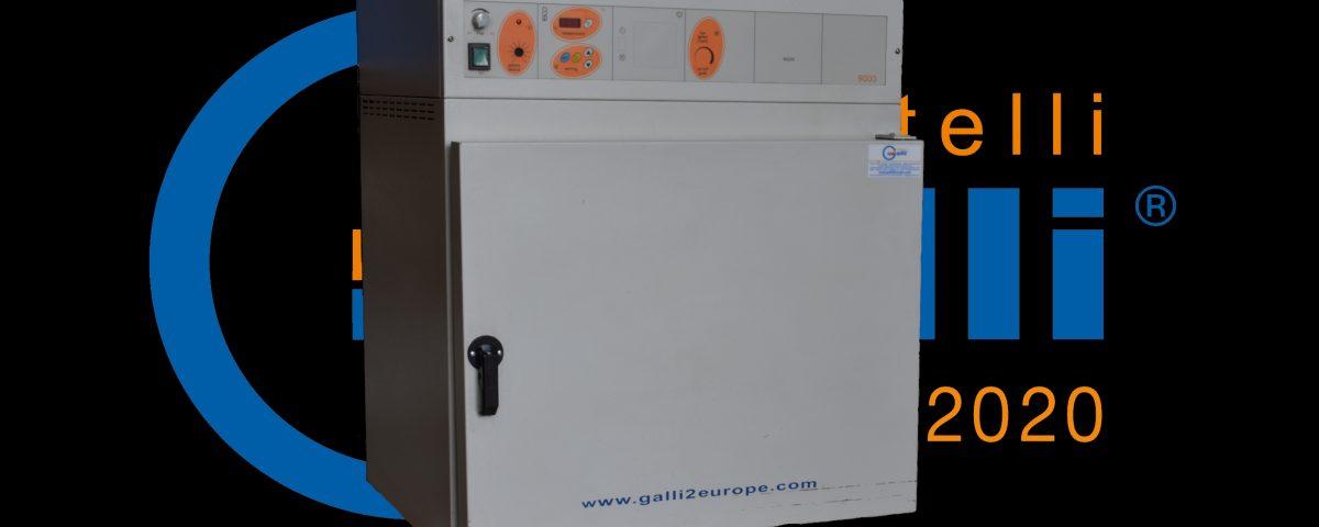 Galli-Stufa-Ventilazione Forzata-11-Usato Rincondizionato-105L +200°C