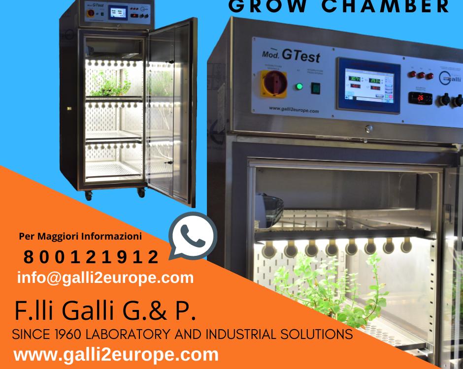 Galli-Climatic Chamber-Camera Climatica-GTest-Fitotrone-Grow Chamber-Camera di Crescita ita