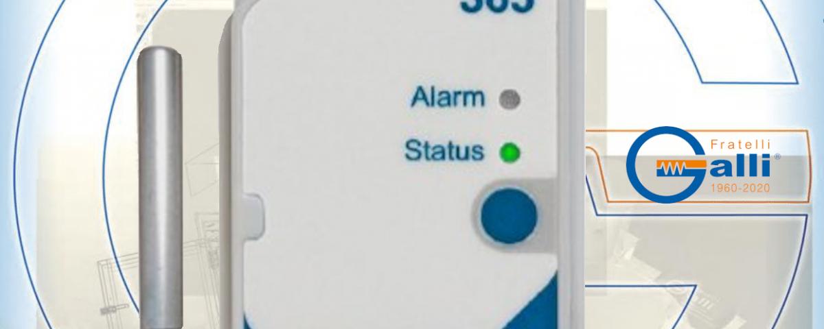 Galli-DataLogger-GCX603-XXXXXX-Monitoraggio Temperatura Frigor-Freezers-Bagni-Stufe-Incubatori-Forni