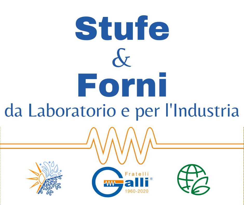 Galli-Stufe-Forni-Stufa Vuoto-Alta Temperatura-Ventilazione Forzata